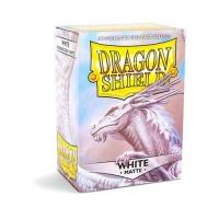 100 Protèges carte - Dragon Shield Transparentes White
