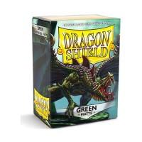 100 Protèges carte Vert Mat - Dragon Shield