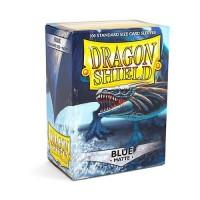 100 Protèges carte Blue Mat - Dragon Shield