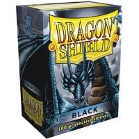 100 Protège carte Noir - Dragon Shield