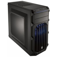 Boîtier PC CORSAIR CARBIDE SPEC-01 - ATX, sans alimentation, LED bleu
