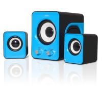 Enceinte SoundPhonic 2.1 Blue - 6W RMS