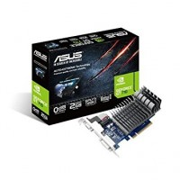 Carte graphique ASUS GEFORCE GT 710 - PCI-E, 2 Go DDR3, GV-N730-2GI