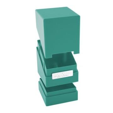 Deck box UG Monolith  100+ taille standard Bleu pétrole