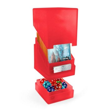 Deck box UG Monolith  100+ taille standard Rubis