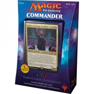 Deck Commander Sorcellerie Esotérique