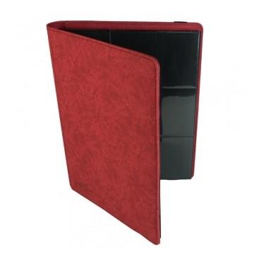 Classeur blackfire 9 pocket album Rouge 360 cartes