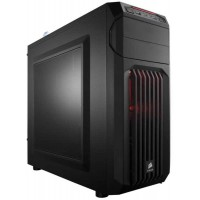 Boîtier PC CORSAIR CARBIDE SPEC-01 - ATX, sans alimentation, LED rouge