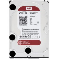 Disque dur 2 To WD Red - 3.5 P, SATA-600, 5400/7200 trs/min, Cache 64 Mo
