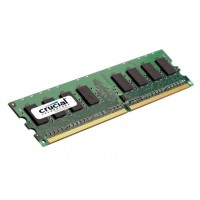 CRUCIAL DIMM DDR2 - 1G PC5300-667MHZ (CL5, 1.8V)