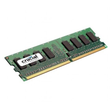 CRUCIAL DIMM DDR2 - 2G PC5300-667MHZ (CL5, 1.8V)