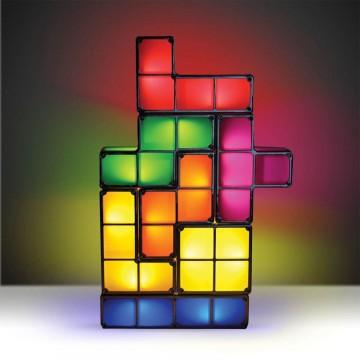 Lampe Tetris Constructible LED 7 pièces