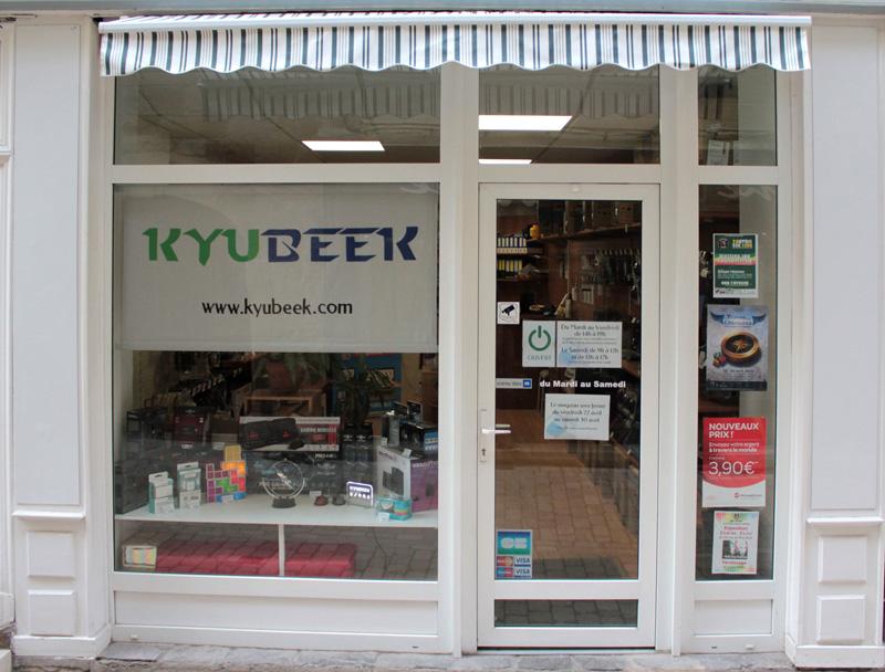 Devanture Kyubeek 11 rue droite